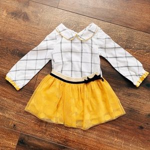 Toddler Tulle Skirt and Blouse Set